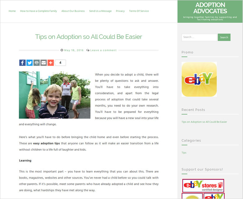 Adoption Advocates International