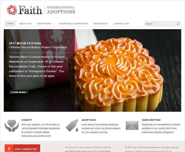 Faith International Adoption